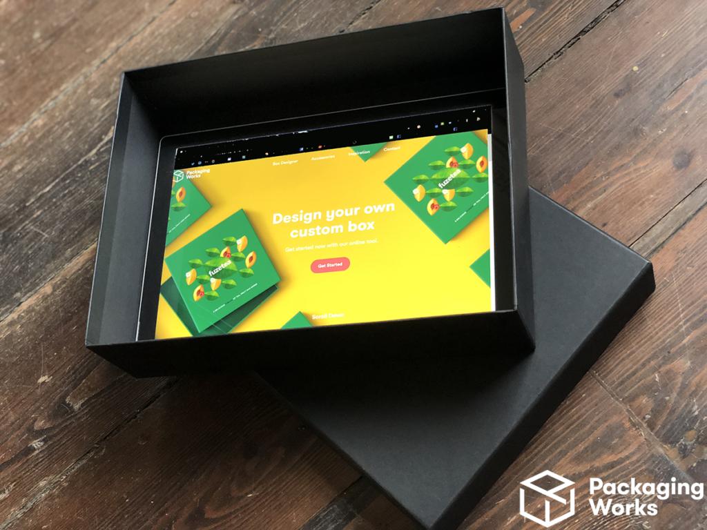 printed bespoke box insert