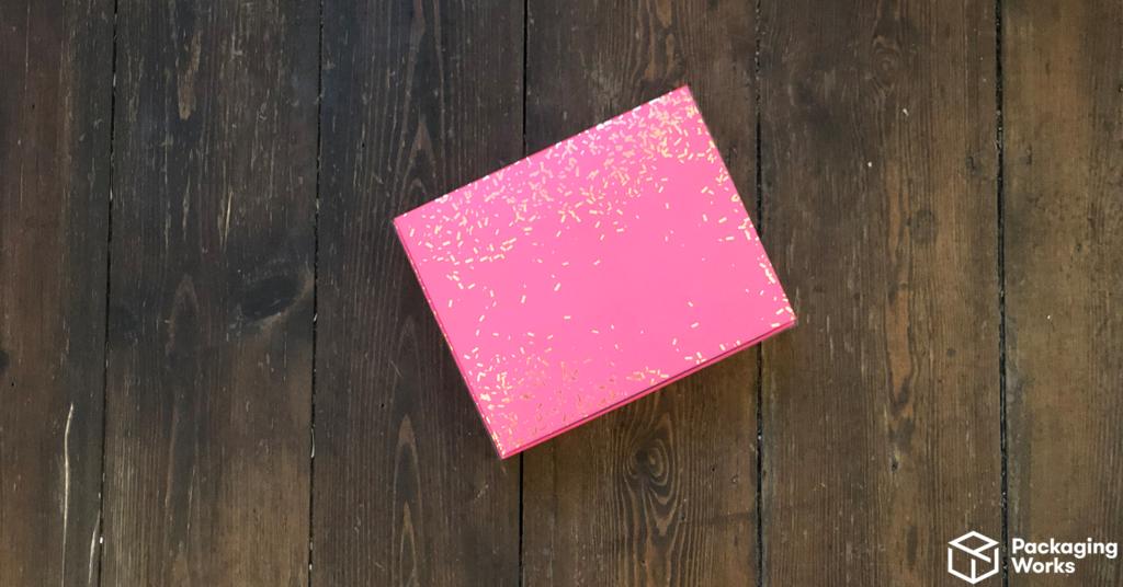 pink bespoke packaging