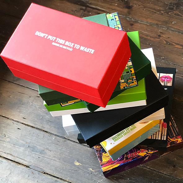 Eco friendly bespoke boxes