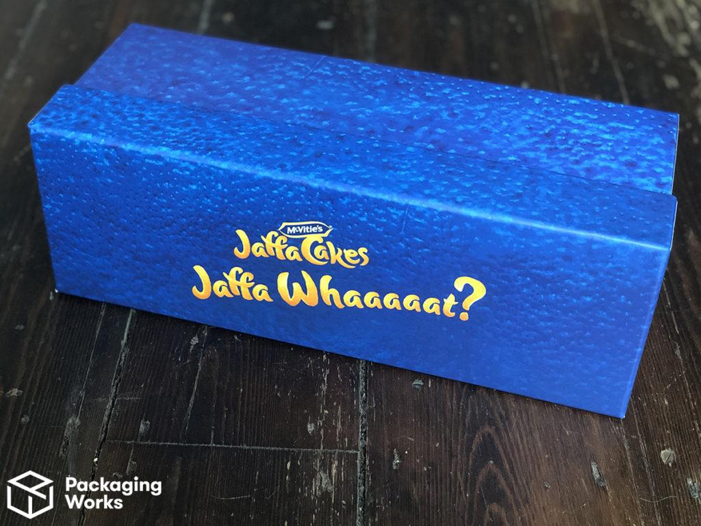 Jaffa Cake custom packaging