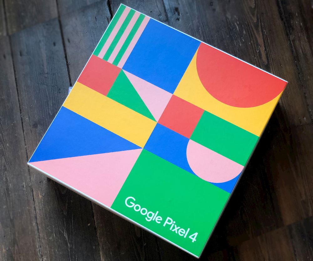 Wild Google Pixel custom packaging